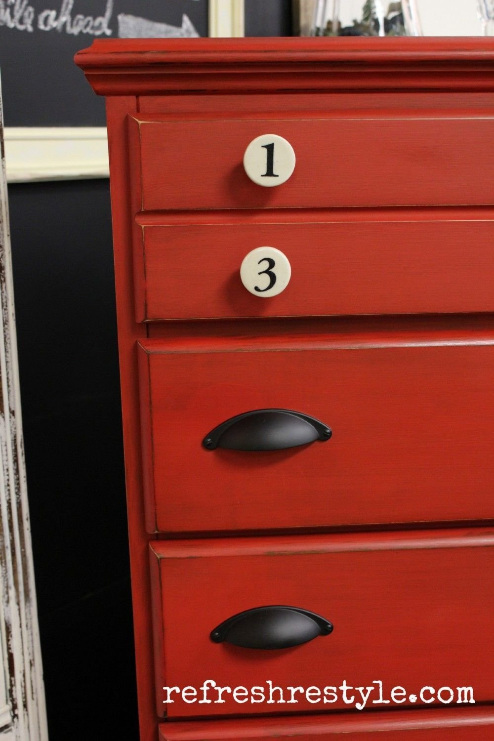 Best Big Red Chest Of Drawers Home Decorating Chest Of With Pictures
