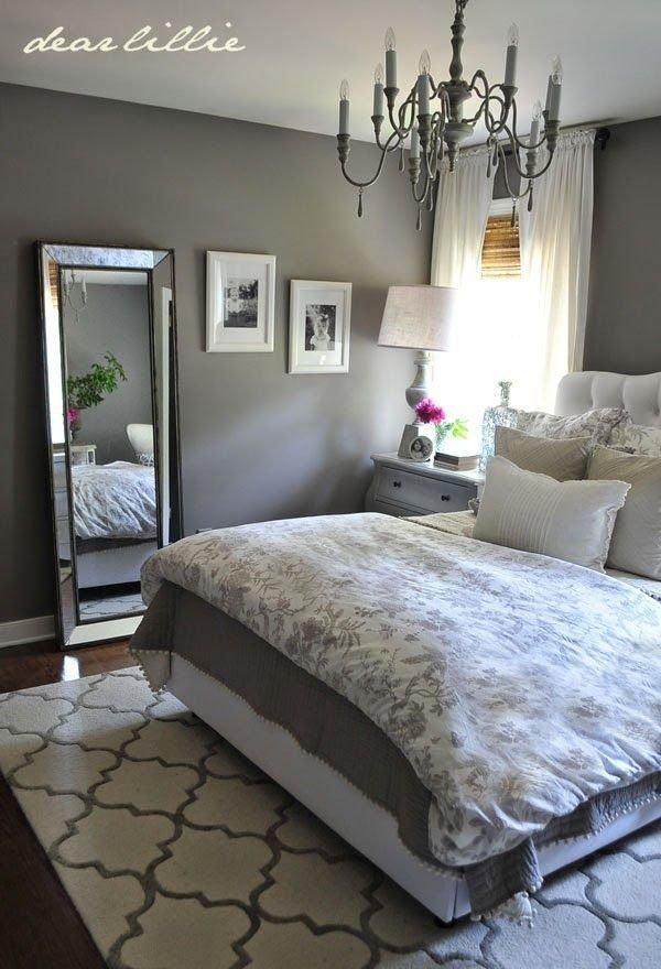 Best Some Finishing Touches To Our Gray Guest Bedroom With Pictures