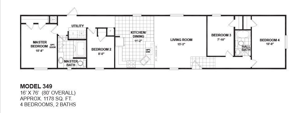 Best Mobile Home Floor Plans 4 Bedroom Google Search Bahce With Pictures