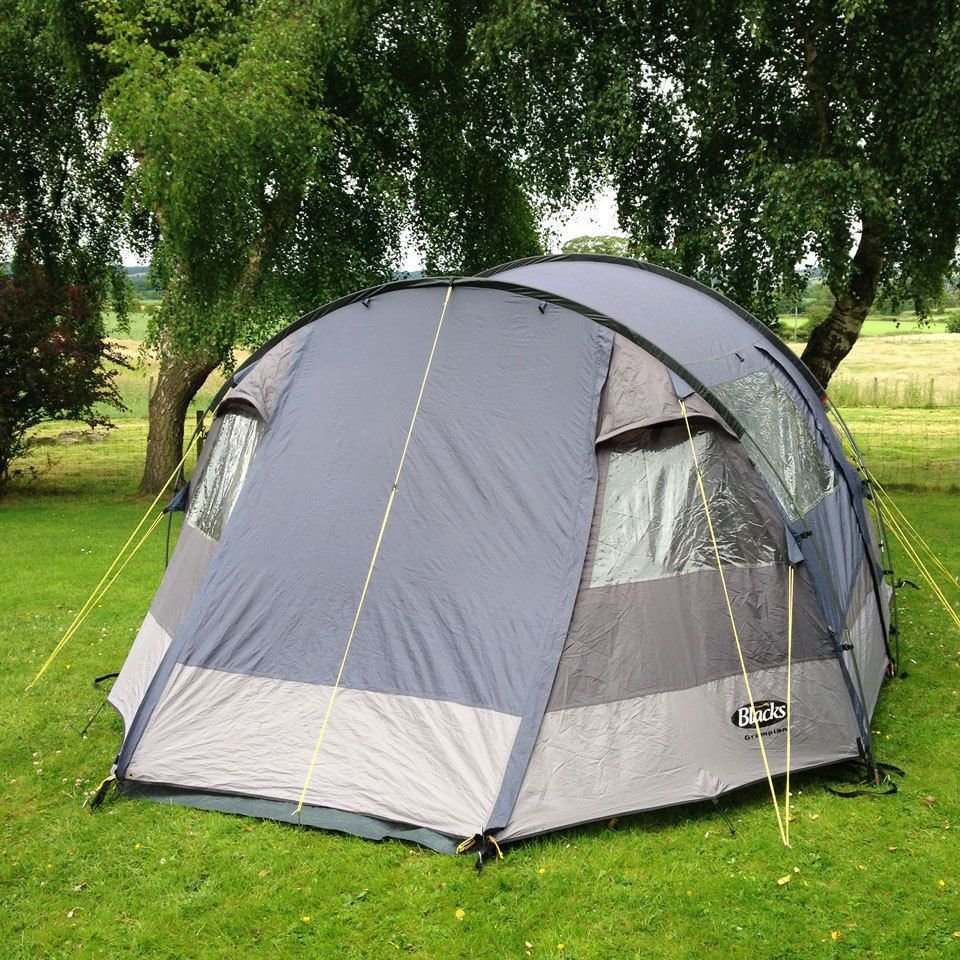 Best Blacks Grampian 4 Man 2 Bedroom Tent With Large Living With Pictures