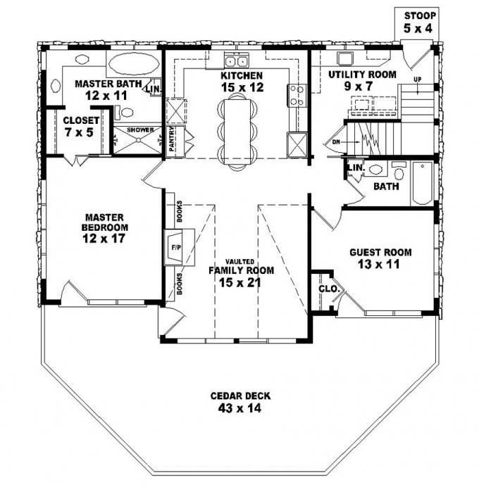 Best 653775 Two Story 2 Bedroom 2 Bath Country Style House With Pictures