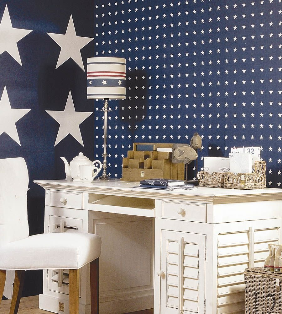 Best Small Stars Interior Designer In Me Boys Star Bedroom Star Bedroom Blue Star Wallpaper With Pictures