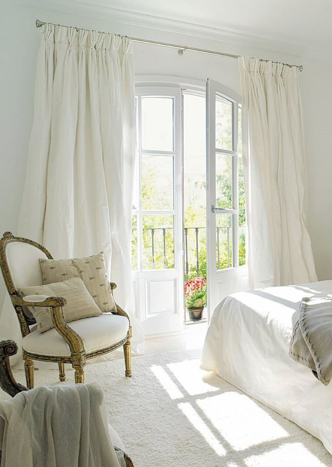 Best White Silk Drapes Have These In My Bedroom Home With Pictures