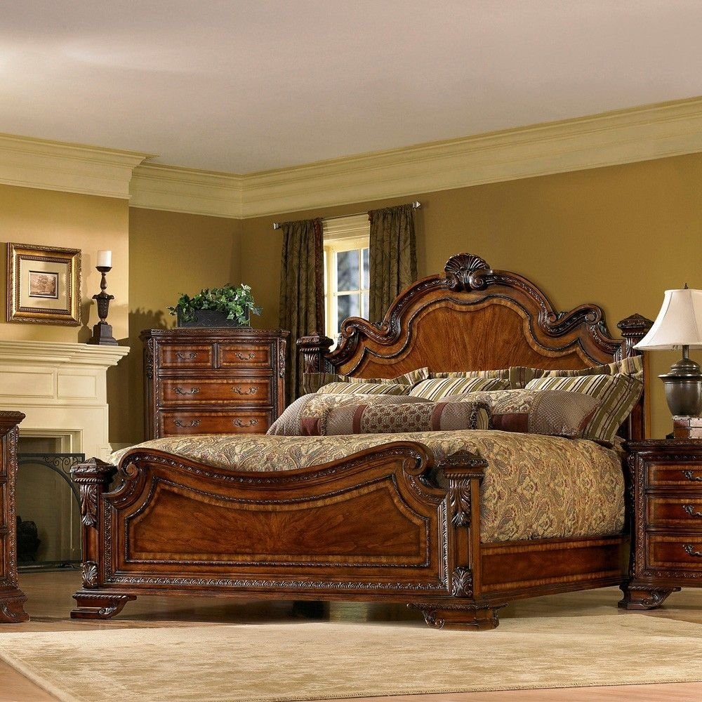 Best A R T Furniture S Old World Wood Bedroom Furniture With Pictures