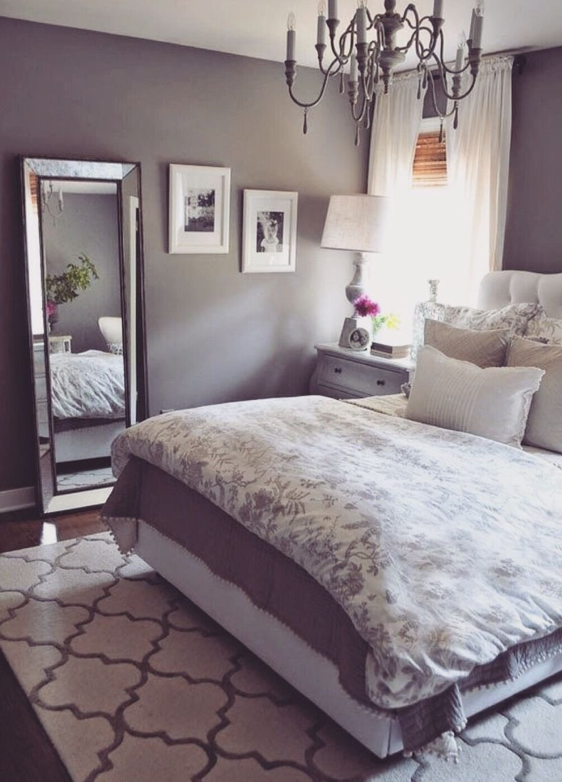 Best Grey Bedroom Soft Soothing Purple Tint Home With Pictures