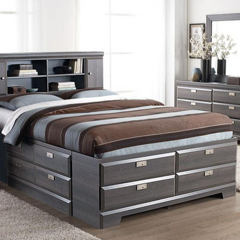 Best Cypres Queen Storage Bed Sears Sears Canada My With Pictures