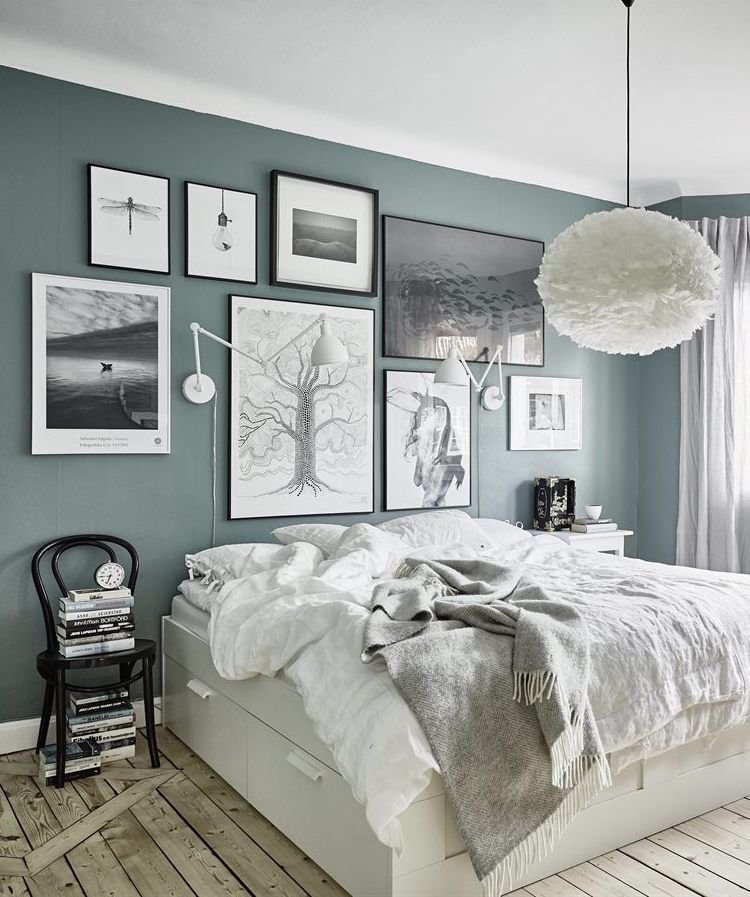 Best Grey Green Walls Future Home Bedroom Green Bedroom With Pictures