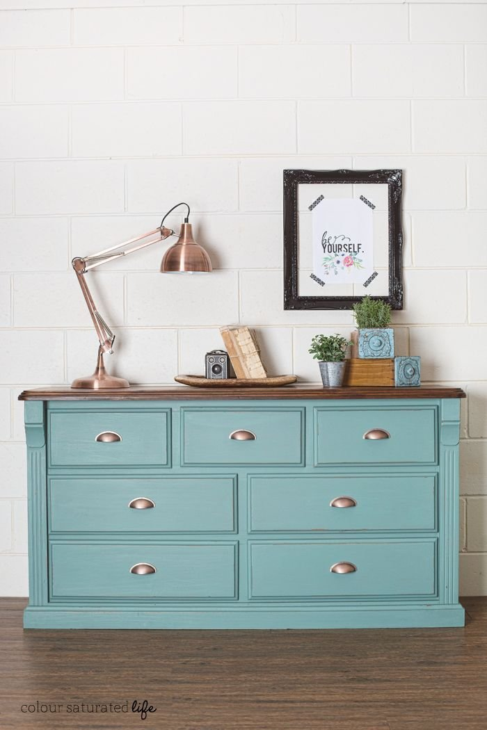 Best How To Update A 90 S Dresser Over At Colour Saturated Life With Pictures