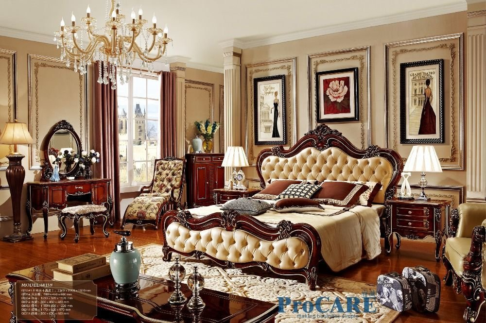 Best Find More Bedroom Sets Information About Russian Style Red With Pictures
