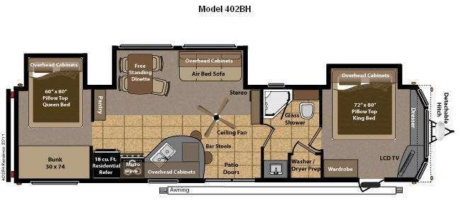 Best Travel Trailers With 2 Bedrooms Rv Style Keystone Rv With Pictures
