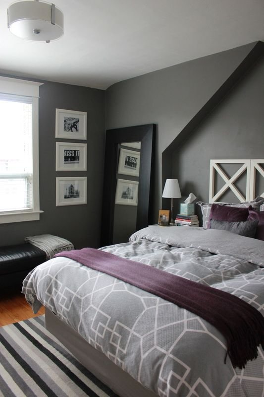 Best 8 Gray Bedrooms Play With Coloration Gray Bedroom Ideas With Pictures