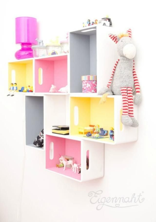 Best 12 Diy Shelf Ideas For Kids' Rooms In 2019 Bunkbed Kids With Pictures