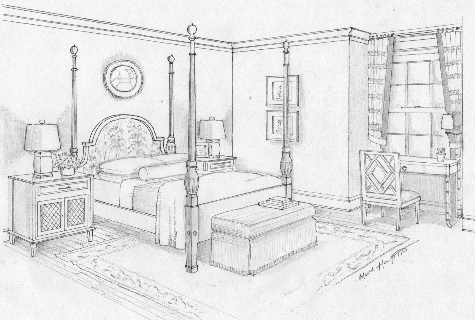 Best Dream Bedroom Sketch Bedroom Ideas Pictures Art With Pictures