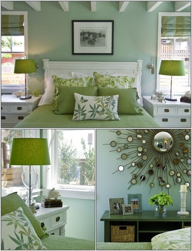 Best Guest Bedroom We Will Have White Furniture And A Green Bedspread Home Inspiration Bedroom With Pictures