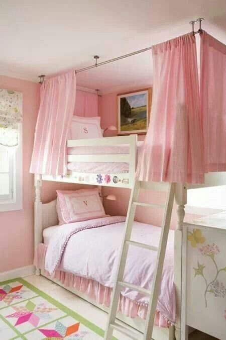 Best Beautiful Way To Personalize Bunk Beds In A Girls Room With Pictures