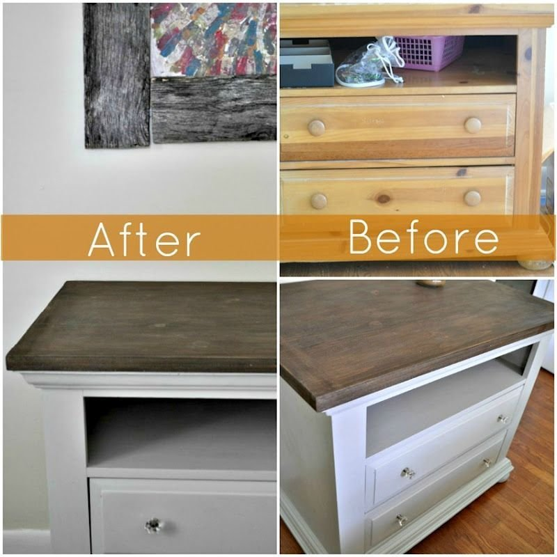 Best Bedroom Dresser Redo From Pine To Contemporary With Pictures