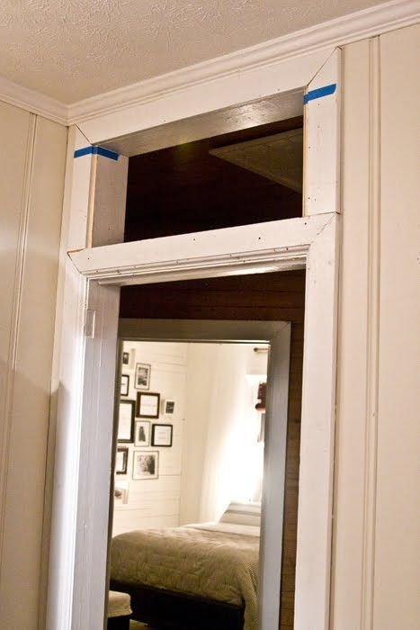 Best How To Add A Transom Above An Existing Door Frame For With Pictures