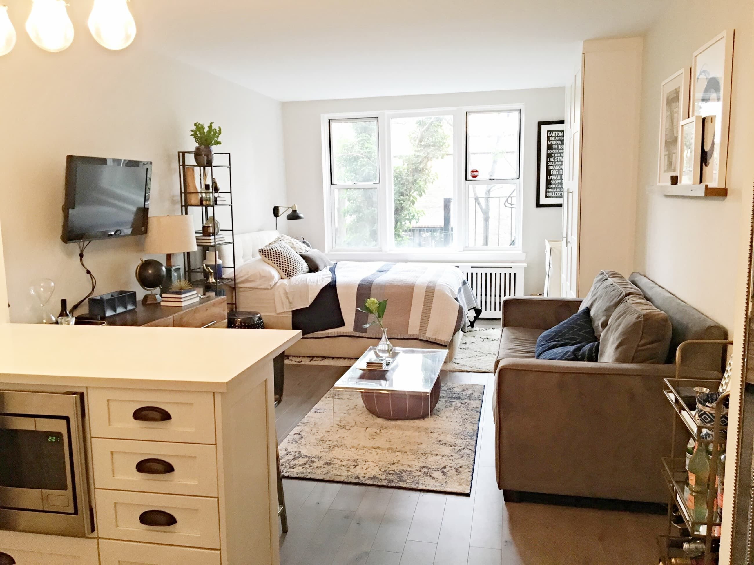 Best This Complete Studio Makeover Went From Gut To Gorgeous Ideas For The House Studio Apartment With Pictures