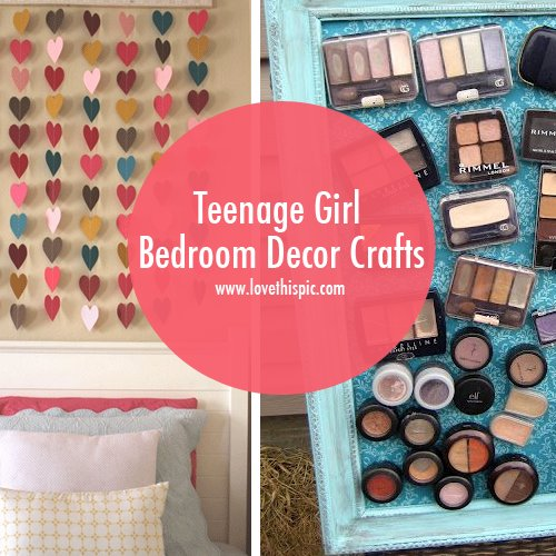 Best Teenage Girl Bedroom Decor Crafts Decor Teenage Girl With Pictures
