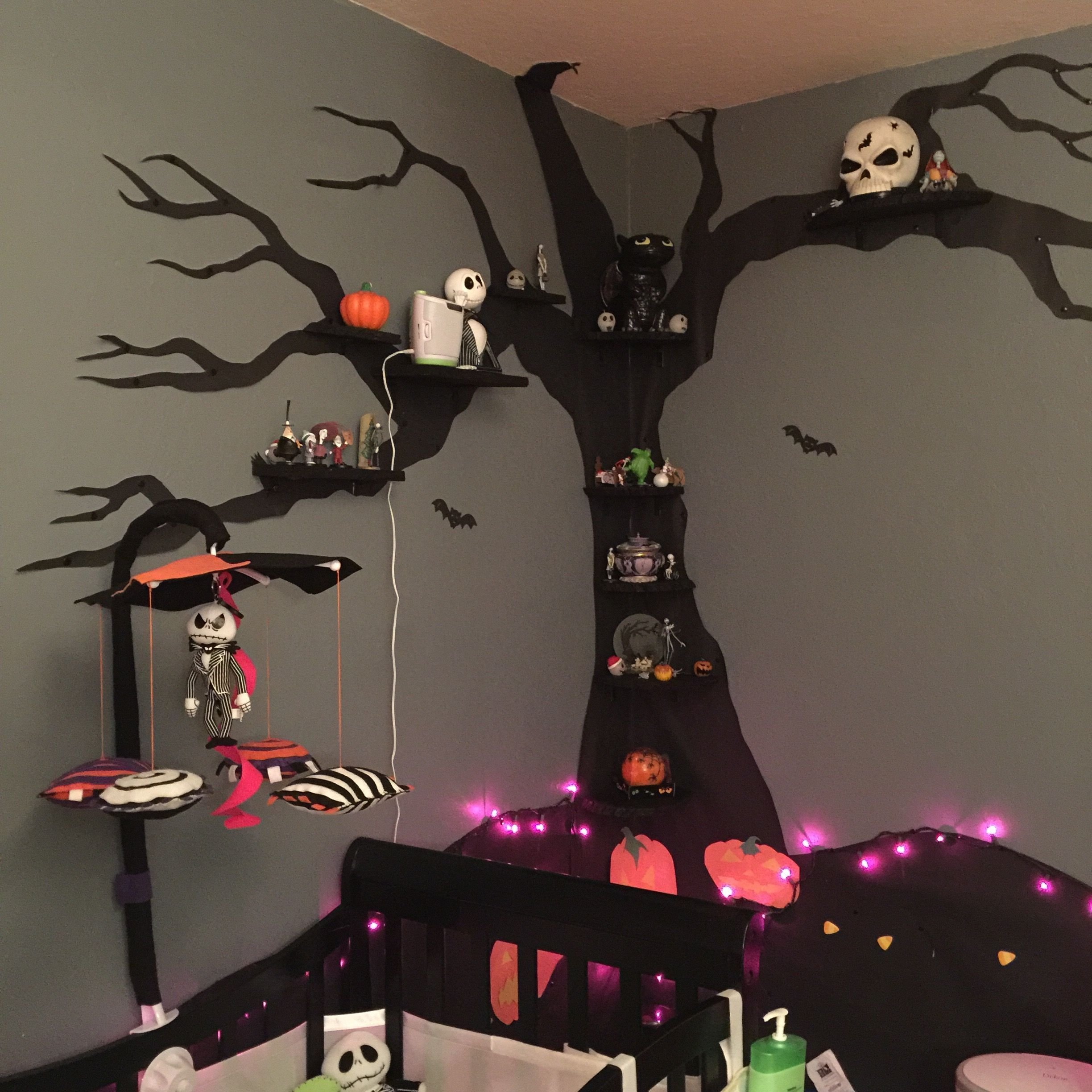 Best Nightmare Before Christmas Nursery On A Budget The With Pictures