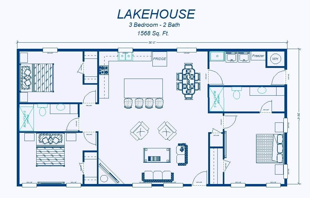 Best 2 Bedroom House Simple Plan David S Ready Built Homes With Pictures