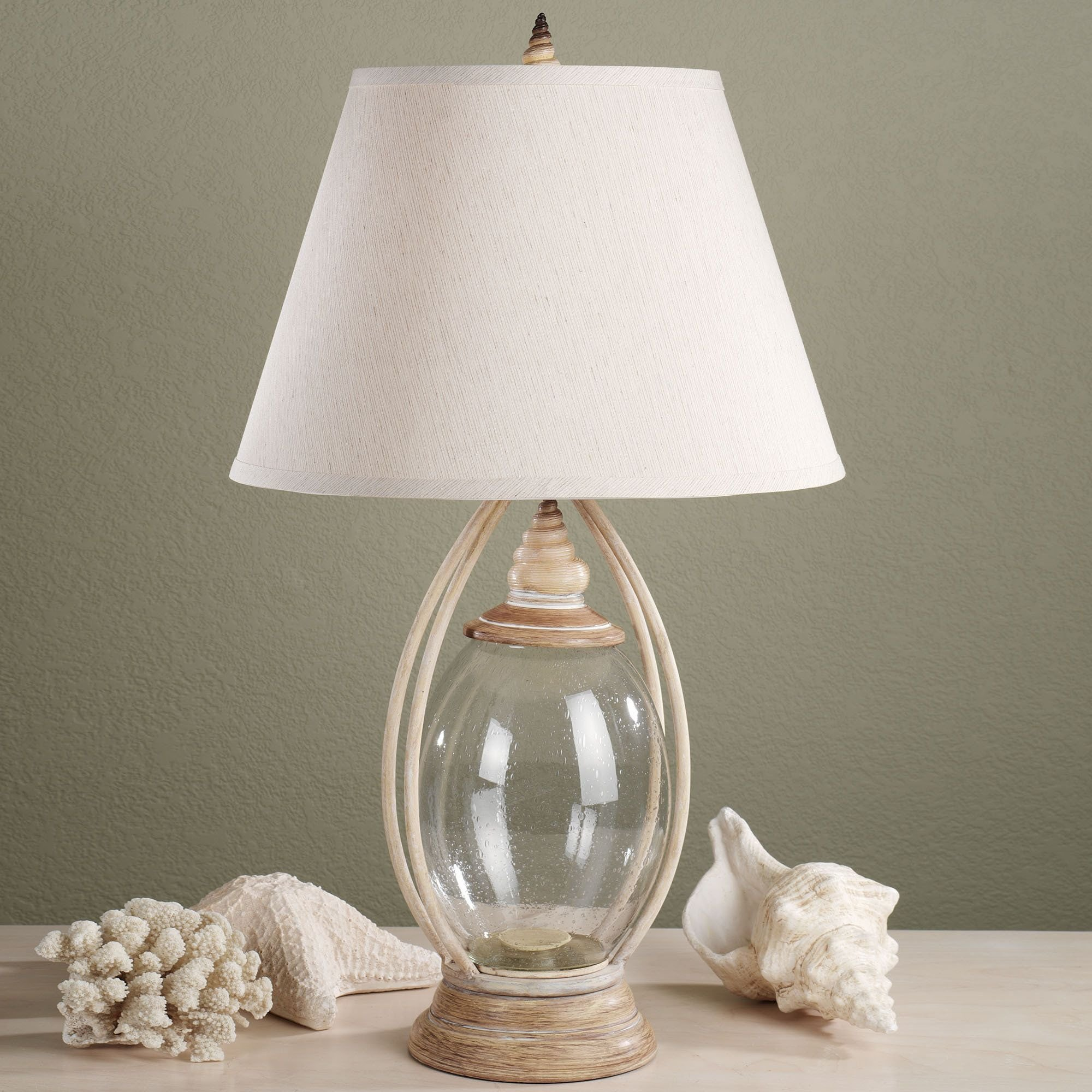 Best Sea Treasures Fillable Glass Table Lamp All I Need Is With Pictures