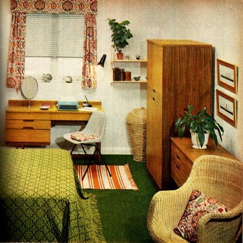 Best Bedroom On A Budget 1960S In 2019 Bedroom Bedroom With Pictures