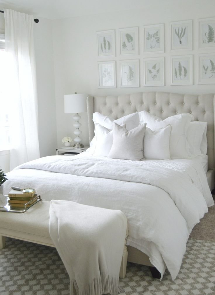 Best 20 White Bedroom Ideas That Bring Comfort To Your Sleeping With Pictures