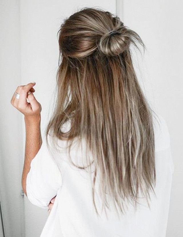 Free 6 5 Minute Hairstyles For Long Hair Beautiful On The Wallpaper