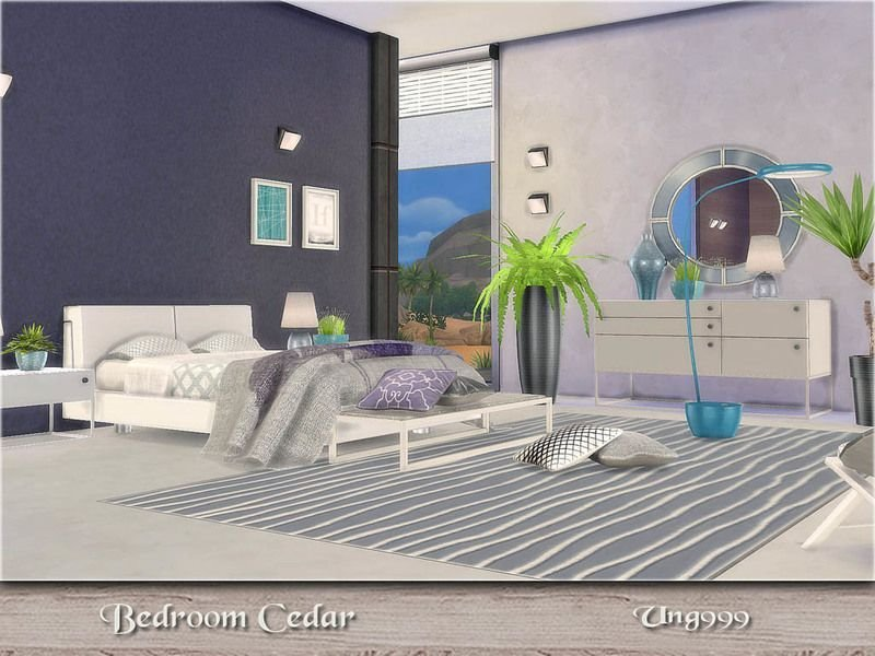 Best A Modern Bedroom Set With 15 Items Found In Tsr Category With Pictures
