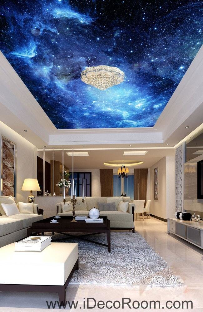 Best Galaxy Stars Night Sky 00075 Ceiling Wall Mural Wall Paper With Pictures