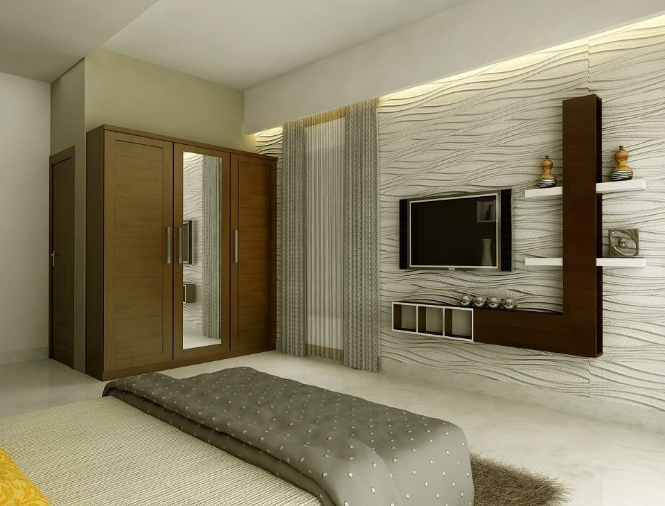 Best Modern Lcd Cabinet And Wardrobe Design For Bedroom Id974 With Pictures