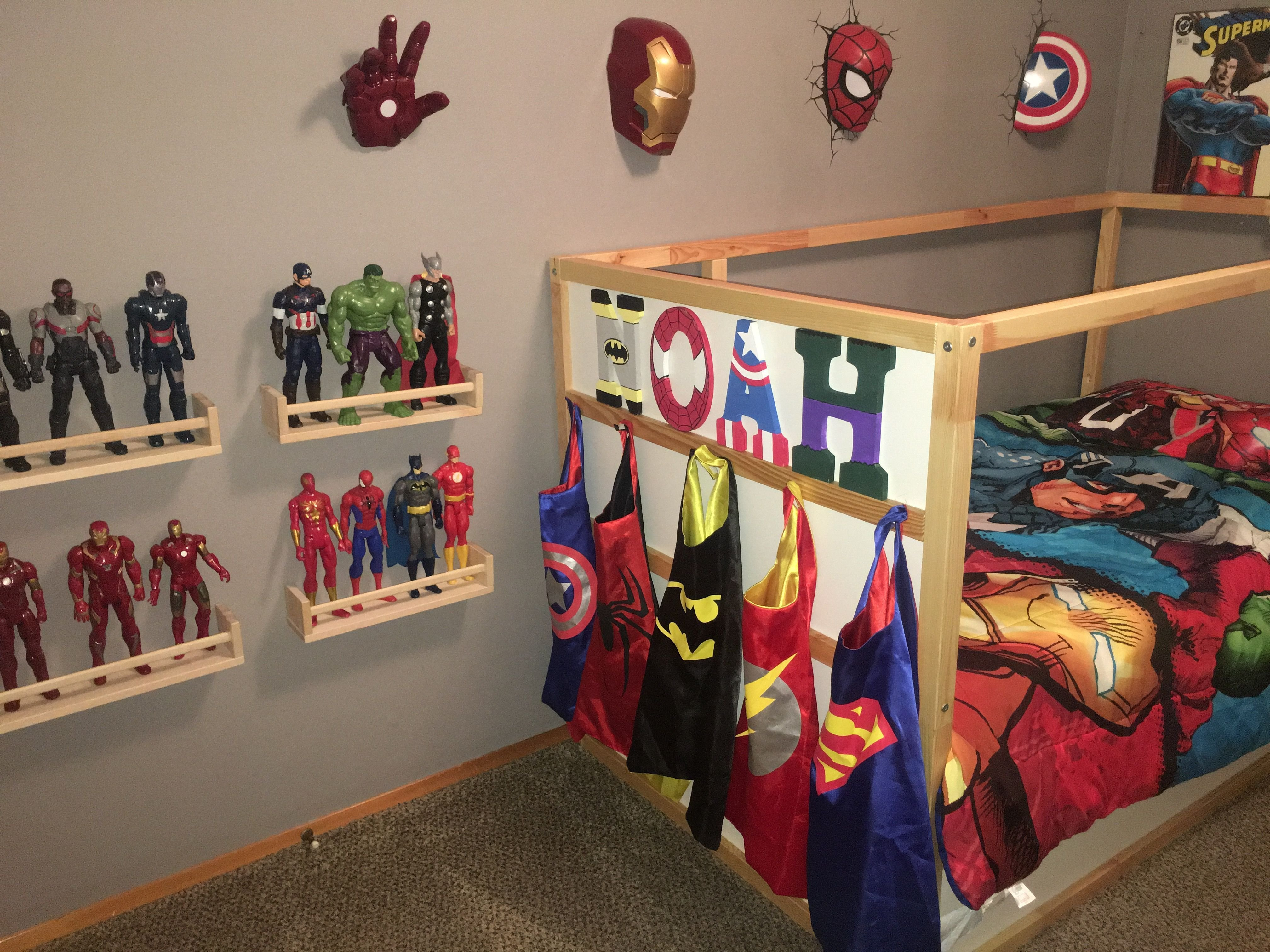 Best 28 T**N Boy Bedding Sets With Superheroes Marvel Themed With Pictures