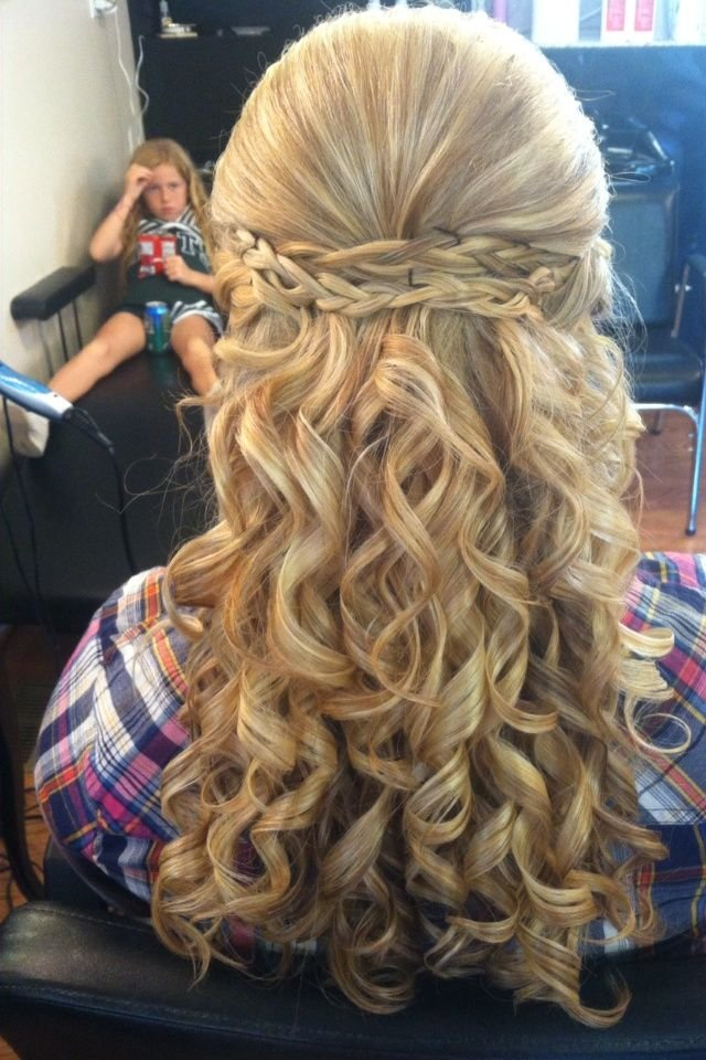 Free Amazing Long Blonde Homecoming Hairstyle Homecoming Wallpaper
