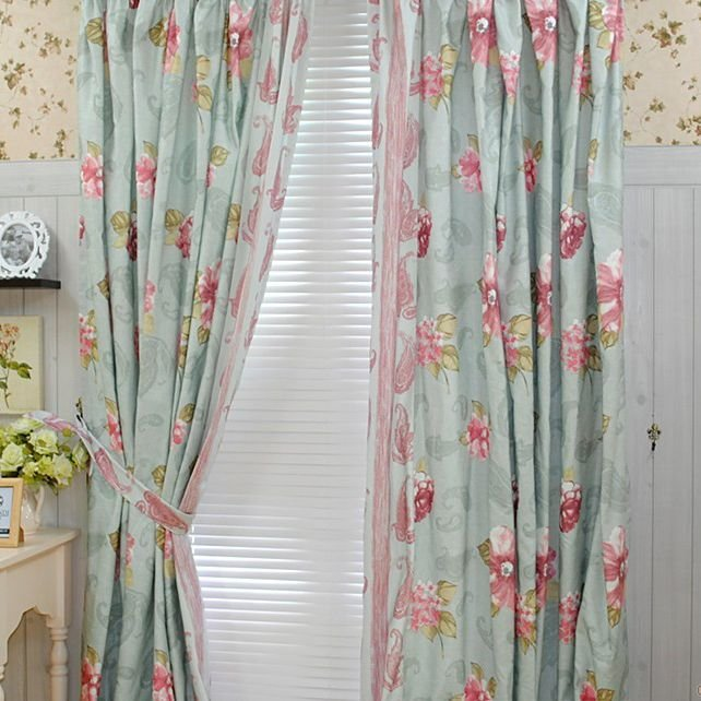 Best Bedroom Country Girls Like Cotton Blending Curtains Two Panels Home Goods Shabby Chic With Pictures