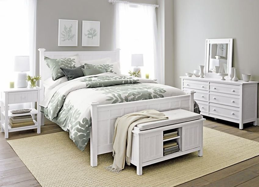 Best Pottery Barn Bedroom Set For The Home White Bedroom With Pictures