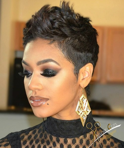 Free 60 Great Short Hairstyles For Black Women Wallpaper