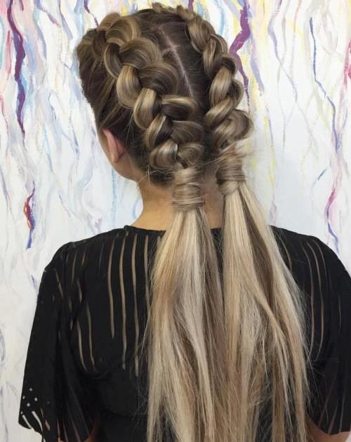Free 30 Gorgeous Braided Hairstyles For Long Hair Wallpaper