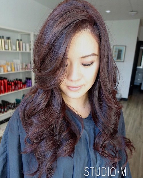 Free It's All The Rage Mahogany Hair Color Wallpaper