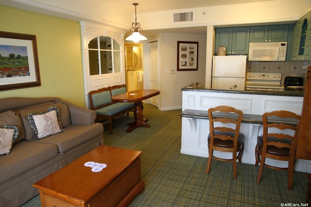 Best Disney Saratoga Springs 2 Bedroom Villa Preferred Www With Pictures
