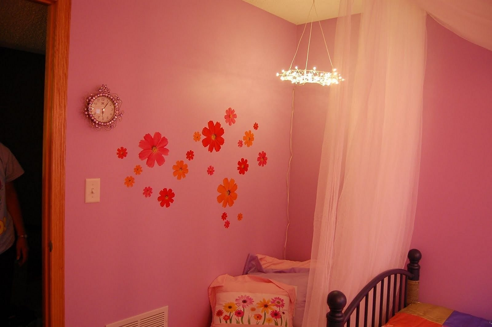 Best Pink Fairy Lights Bedroom – Decoredo With Pictures