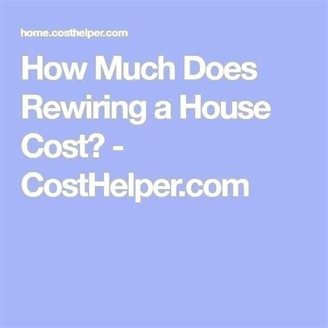 Best Cost Of Rewiring A 3 Bedroom House Www Resnooze Com With Pictures