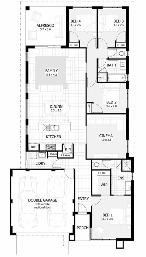 Best 3 Bedroom Townhouse Plans Australia Psoriasisguru Com With Pictures