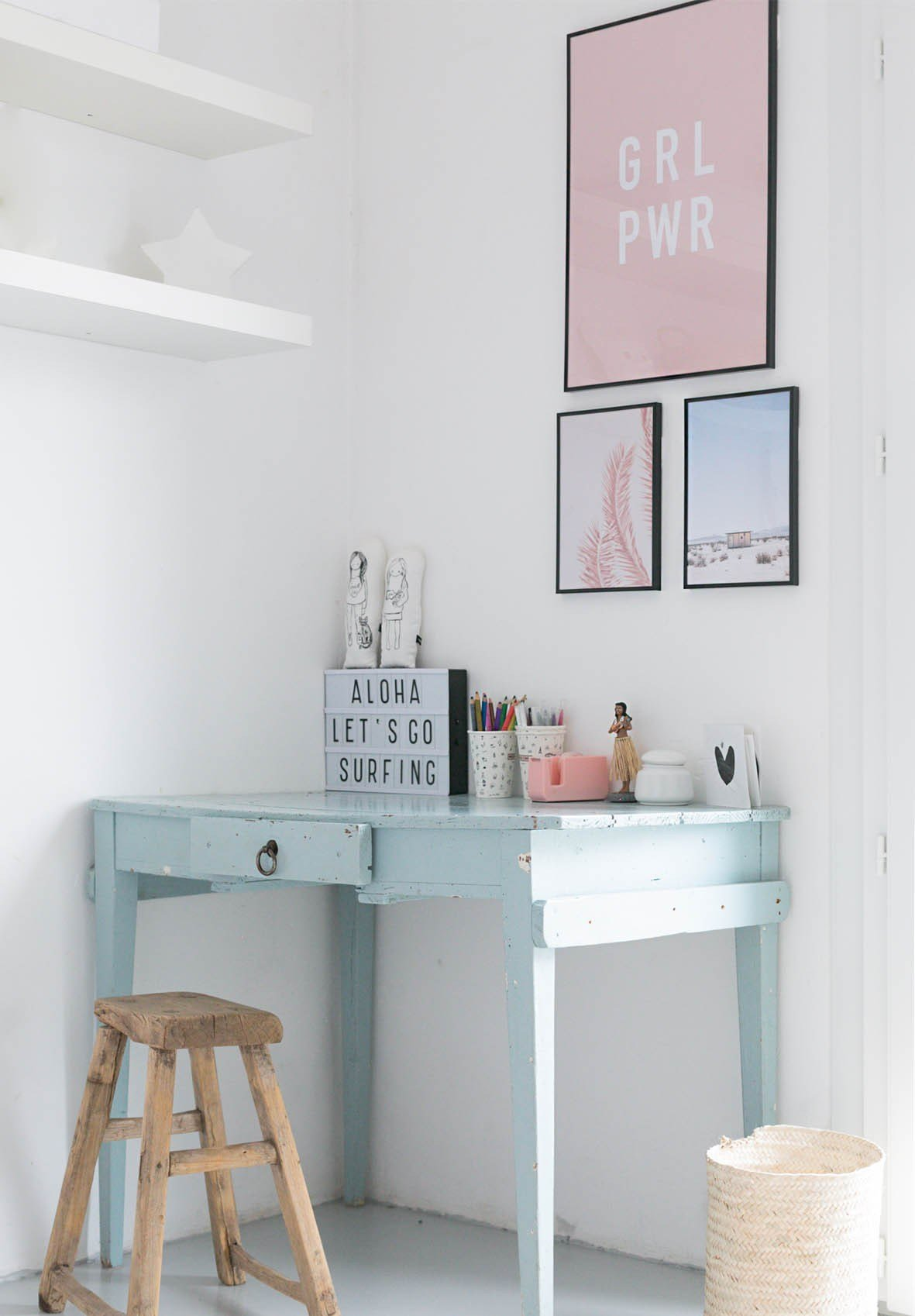 Best T**N S Desk Area Makeover With Pictures