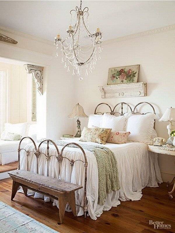 Best 30 Cool Shabby Chic Bedroom Decorating Ideas For With Pictures