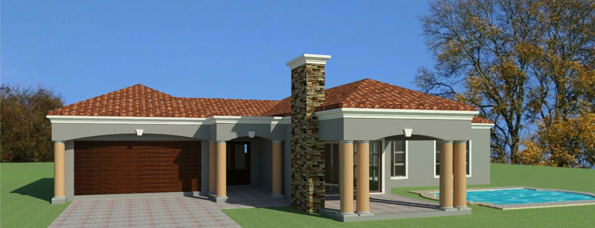 Best 3 Bedroom House Plan For Sale South African Designs With Pictures