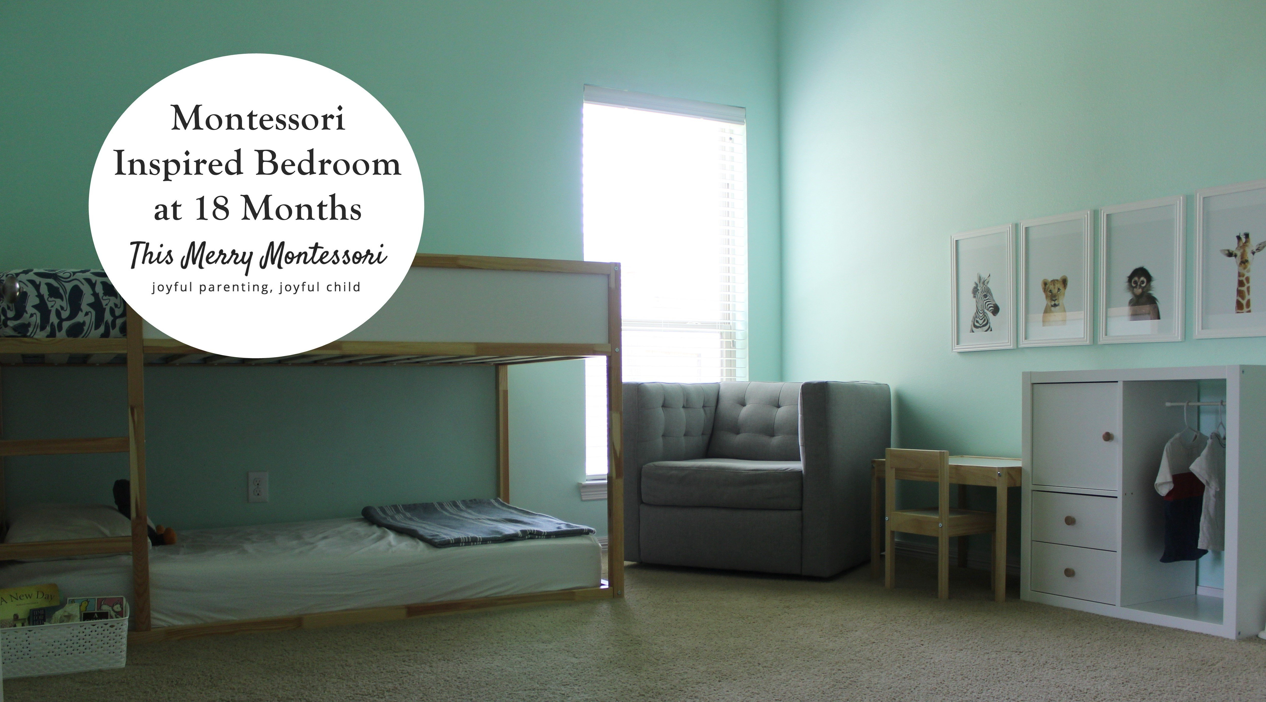 Best Montessori Inspired Bedroom At 18 Months – This Merry With Pictures