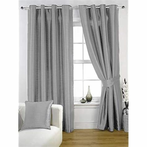 Best Silver Grey Curtains Amazon Co Uk With Pictures