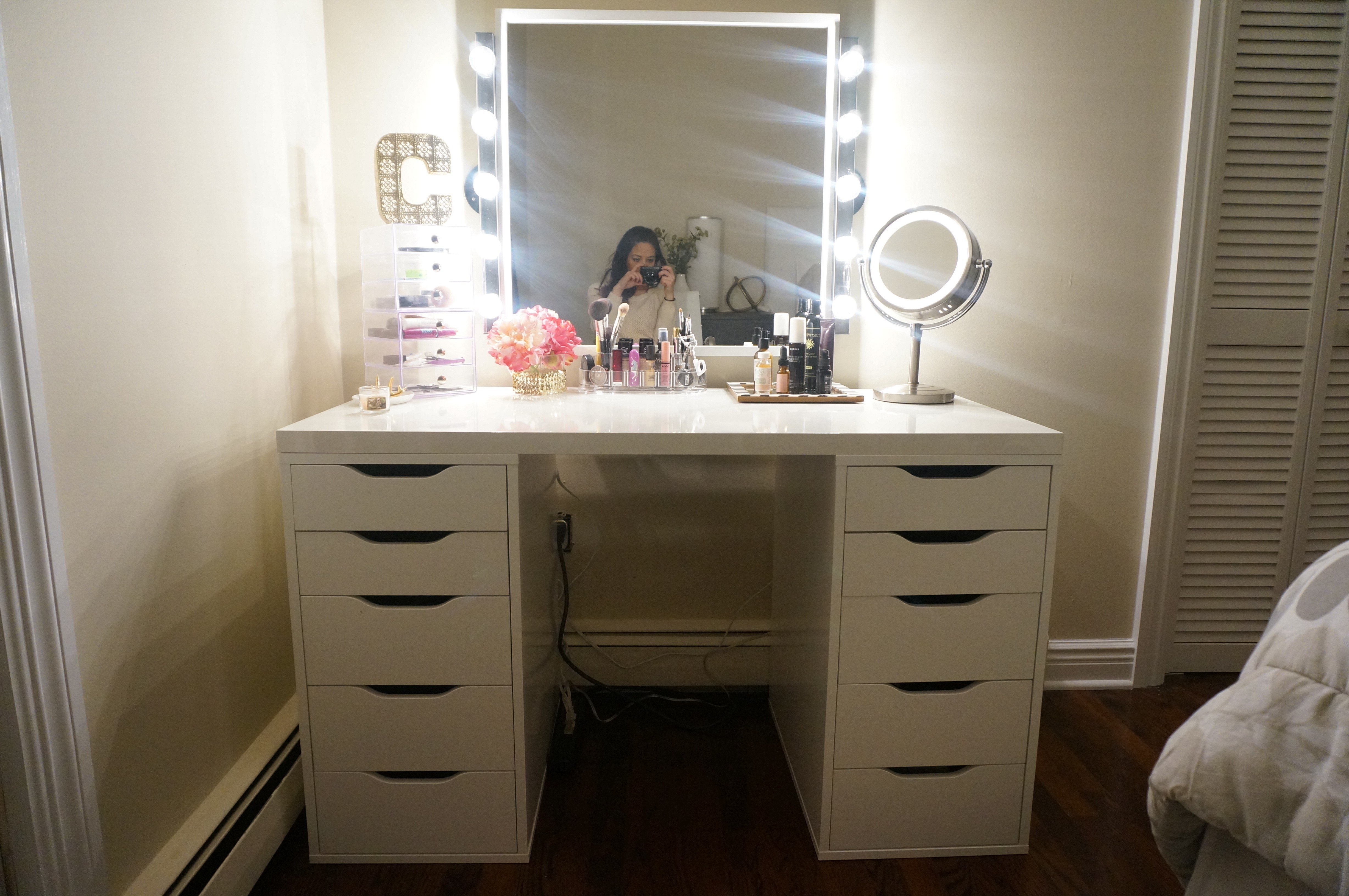 Best Diy Makeup Vanity – Made2Style With Pictures