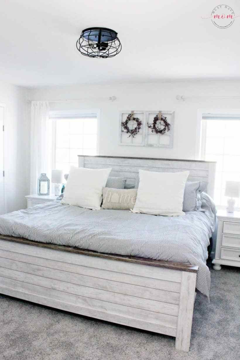 Best Farmhouse Style Master Bedroom Makeover Using With Pictures